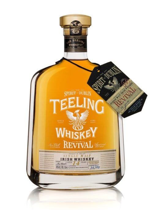 Teeling Whiskey - The Revival - Volume III. 14 Year Old, Single Malt. (Image Credit - Teeling Whiskey)