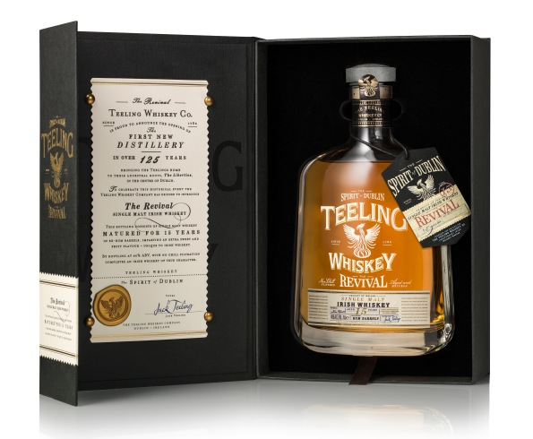 Teeling Whiskey - The Revival - Volume I. 15 Year Old, Single Malt. (Image Credit - Teeling Whiskey)