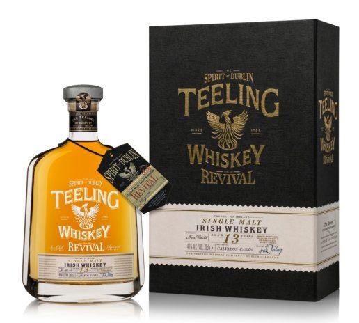 Teeling Whiskey - The Revival - Volume II. 13 Year Old, Single Malt. (Image Credit - Teeling Whiskey)