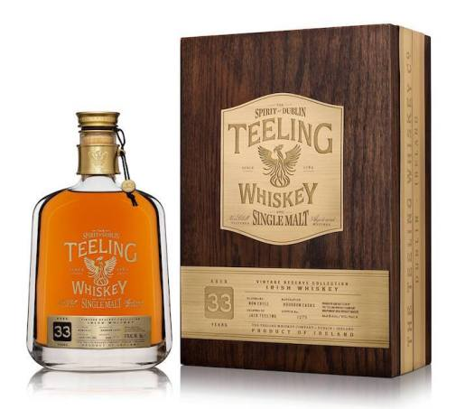Teeling Whiskey - 33 Year Old, Single Malt. (Image Credit - Teeling Whiskey)