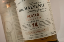 The Belvenie, Peated, Aged 14 years.