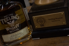 Teeling Whiskey - Revival Vol.IV with their award