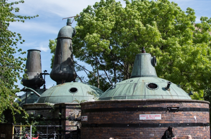 Johns Lane Distillery Pot Stills